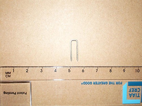Amazing Drapery Hardware 10 PCS Plantation Shutters Tilt Rod, Louvers Staples, Replace Missing Staples