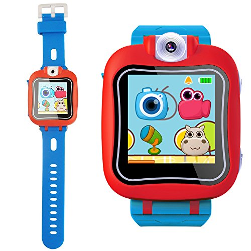 Game Smart Watch for Kids, Kids Smartwatch, Girls Boys Smart Watches with Video Timer Alarm Digital Camera Children's Smart Game Watches (Blue) by Themoemoe