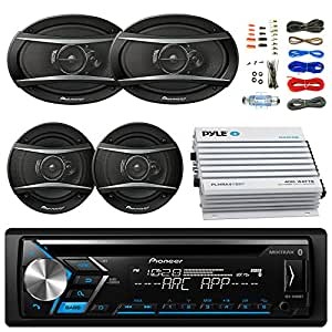 amazon com pioneer deh s4000bt bluetooth radio usb aux cd player rh amazon com