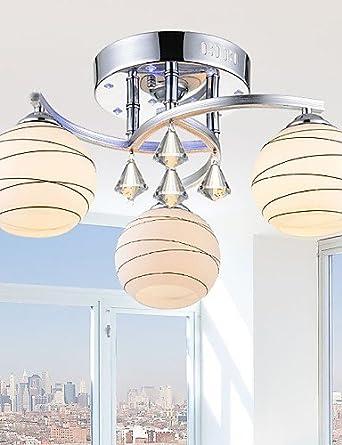 qiuxi Fashion de gama alta luces de techo interior lámpara de araña ...
