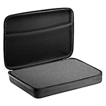 """Neewer 12.2x7.87x3.15""""/31x20x8cm EVA Shockproof Protective Carrying Case for Gopro Hero 1/2/3/3+/4/4Session,SJ4000/5000/6000/7000 Action Cameras and Accessories - Black"""