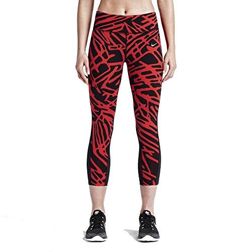 Nike Palm Epic Lux Womens Running Crops Light Crimson/Black XS