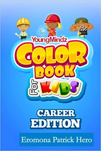 Youngmindz Color Book For Kids Career Edition Coloring Pages For