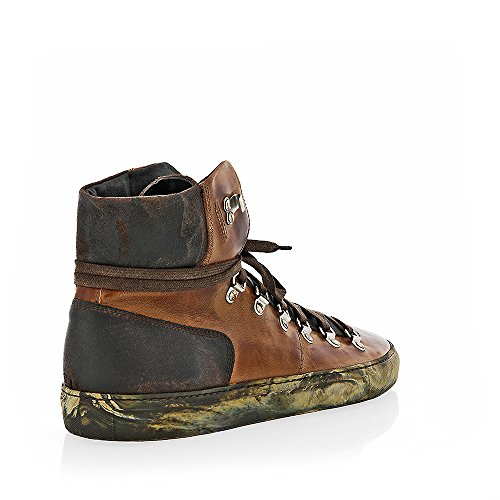The Original Shoes Brown Lace Up High Top Sneaker by The Original Shoes (Image #2)