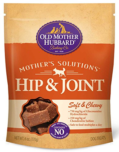 Old Mother Hubbard Mother's Solutions Soft & Chewy Natural Dog Treats, Hip & Joint, 6 oz