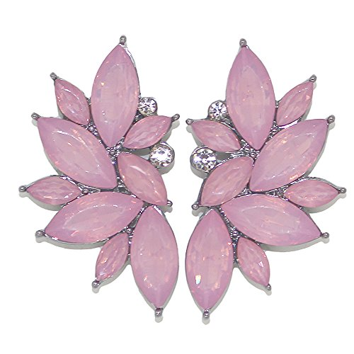 Glass Leaf Earrings - 7
