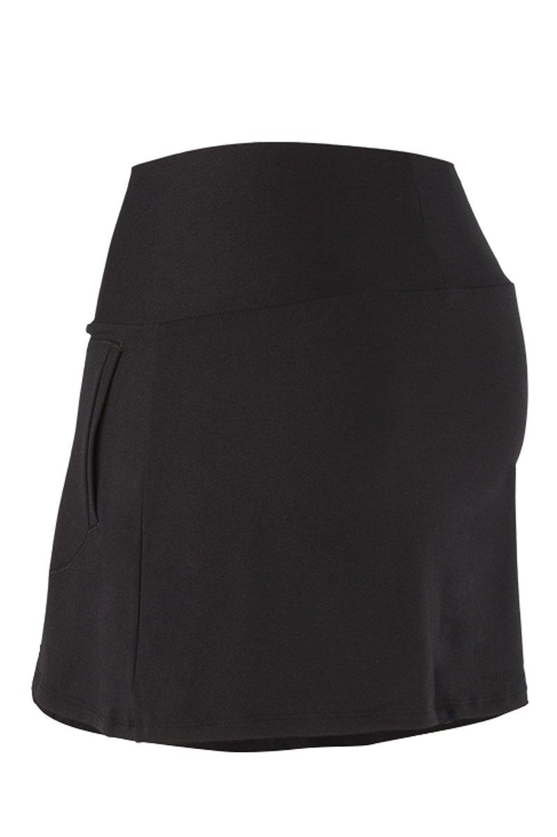 Naffta Basic - Falda-short para mujer, color negro, talla L: Amazon.es: Deportes y aire libre
