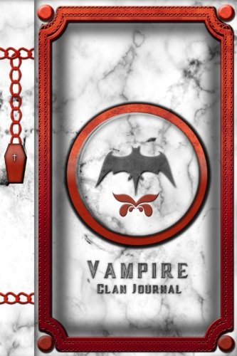 Vampire Clan Journal: Vampire Diary Notebook 150 Pages, 6