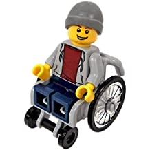 LEGO Town City Fun in the Park Minifigure - Disabled Handicapped Man in Wheelchair (60134)