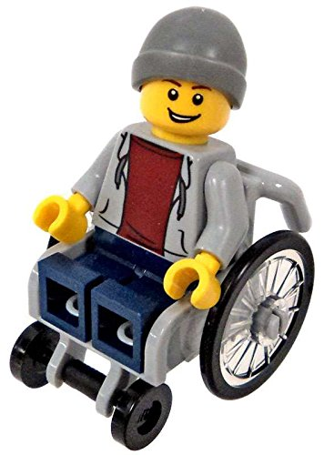 LEGO Town City Fun in the Park Minifigure - Disabled Handica