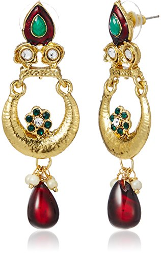 Aheli Drop Earrings for Women (Multi-colour) (A1EJP48)
