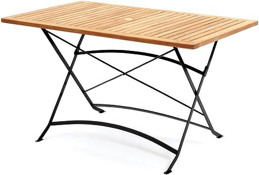 Belardo APATURA Jardin Table pliante rectangulaire avec ...
