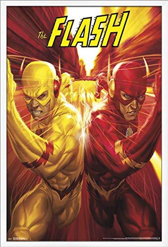 Robin X Kid Flash (Trends International DC Comics Reverse Flash-Race Wall Poster, 24.25