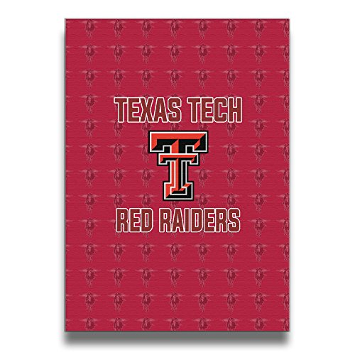 Ncaa Texas Tech Red Raiders Lady Raiders TTU Teams Logo Canvas Frameless Paintings Decor