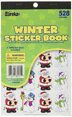 Eureka Winter Sticker Book ()