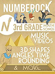 Numbers and Measurement Music Videos for Kids in 3rd Grade Math