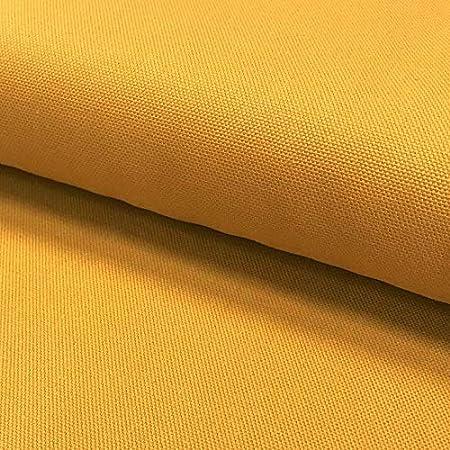 Tela de algodón de 0,5 m, Color Amarillo Mostaza, Resistente al ...
