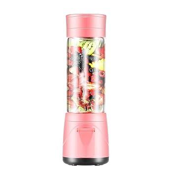 Yxx max Mini exprimidor máquina de Jugo inalámbrico de Alta Taza de Jugo de borosilicato: Amazon.es