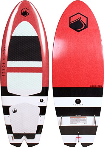 Liquid Force Rocket Wakesurfer w/ Handle Sz 4ft 8in