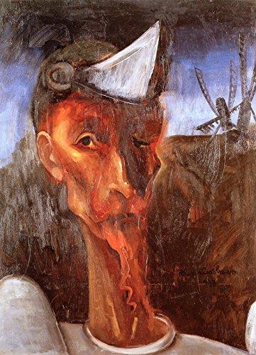 Aenx Felix Nussbaum - Don Quixote and the Windmills Painting Kulturgeschichtliche Museum Osnabrück 30