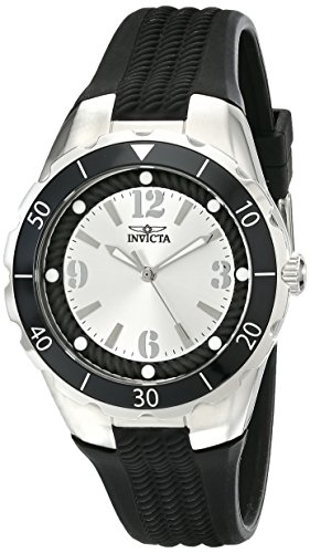 Invicta Women's 17482 Angel Analog Display Japanese Quartz Black Watch