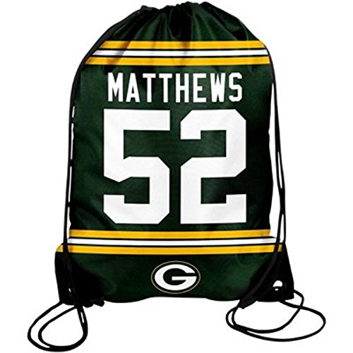Green Bay Packers Matthews C. #52 Drawstring Backpack