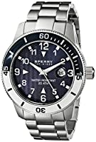 Sperry Top-Sider Men's 10014913 Diver Analog Display Japanese Quartz Silver Watch by Sperry Top-Sider Watches MFG Code