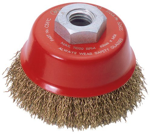 Draper Expert 52635 60 mm x M14 Crimped Wire Cup Brush by Draper