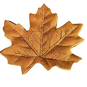Morecome Artificial Maple Leaves Multicolor Leaf For Wedding Party Decor (B)
