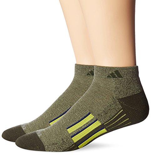 adidas Men's Climacool X II Low Cut Sock (2 Pair)