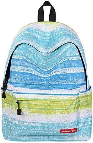 GYCZCDamen Tasche Stern Rucksack Schultasche Schultasche Damen Rucksack Schultasche Schultasche Stern Rucksack Schulterstreifen grün