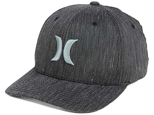 Hurley Black Suits Hat - Graphite Texture - L/XL