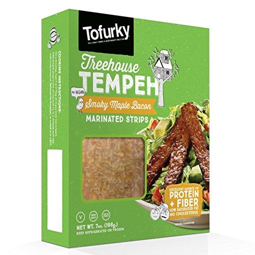 Tofurky, Smoky Maple Bacon Marinated Tempeh, 7 oz