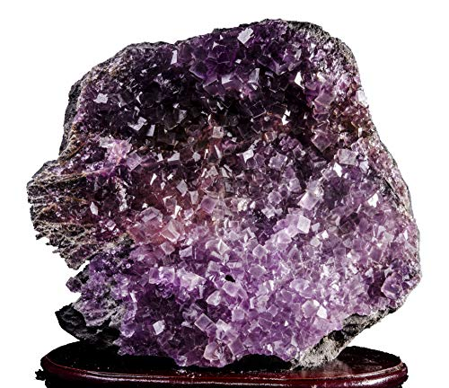 - AAAAA Extra Large Rare Raw Natural Purple Violet Fluorite Crystal Cluster/Fluorite Specimen Display/Fluorite Cubes Crystal/Purple Crystal/Decor/Gift for Her