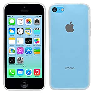 SAMRICK olasignifica super delgada carcasa protectora de gel para translúcido Apple iPhone 5C