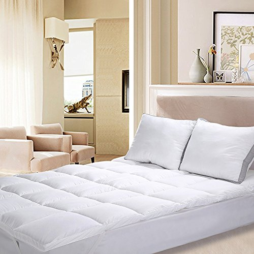 Utopia Bedding Polyester Mattress Topper  – Mattress Pad C