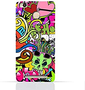 Xiaomi Redmi 3x TPU Silicone Case With Graffiti Hip Hop 2 Design