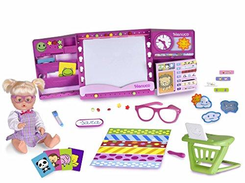 Nenuco hAPPy School – Muñeco interactivo (Famosa 700013101)