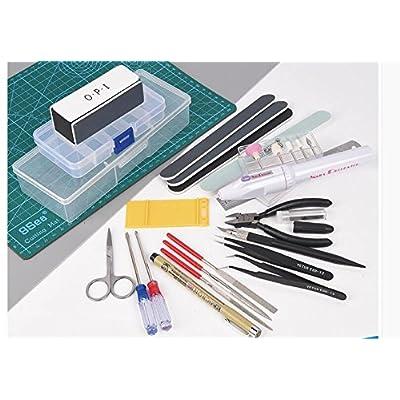 Preamer Modeler Professional Tools Craft Set for Car Gundam Model Assemble Building Kit: Toys & Games
