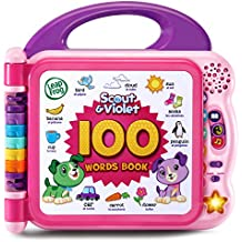 LeapFrog Scout and Violet 100 Words Book-Bilingual-Amazon Exclusive, Purple
