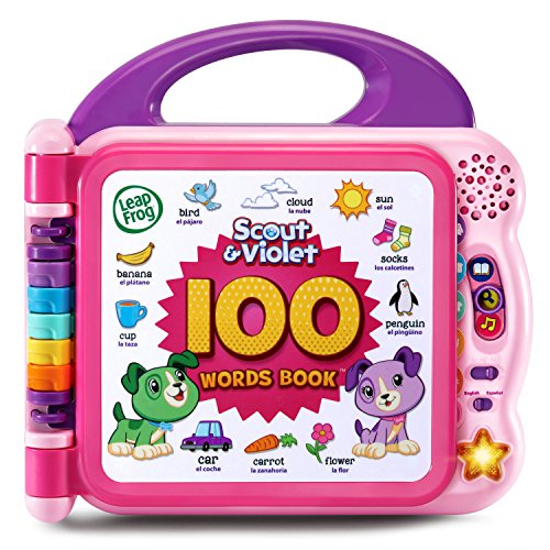 LeapFrog Scout and Violet 100 Words Book Bilingual (Amazon Exclusive)