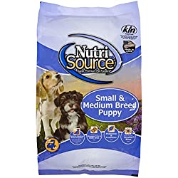 Tuffy's Pet Food NutriSource 6.6-Pound Chicken and Rice Formula Breed Dry Puppy Food, Small/Medium