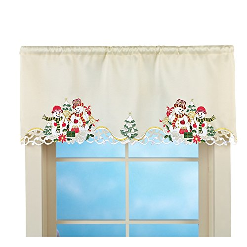 Christmas Curtains For Kitchen Windows: Amazon.com