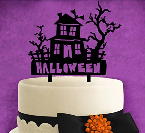 Halloween-Cake-Toppers-KOOTIPS-Hard-Acrylic-DIY-Halloween-House-Cake-Snack-Decorations-Picks-Suppliers-Party-Accessories-for-Wedding-Shower