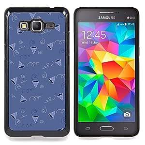 Stuss Case / Funda Carcasa protectora - Patrón de regalos fiesta de cumpleaños del Cono - Samsung Galaxy Grand Prime G530H / DS