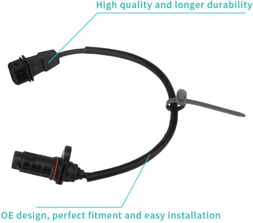 Crankshaft Position Sensor CPS Fit 39180-25300 for Kia Forte Koup Optima Sorento Sportage Hyundai Santa FE Sonata Tucson ix35 2006 2007 2008 2009 2010 2011 2012 2013 2014 2015//DOICOO
