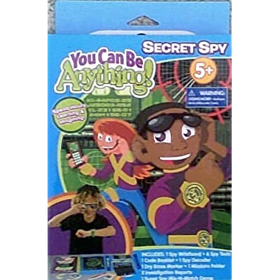 Pretend Play Secret Spy Kit - Age 5+: Toys & Games