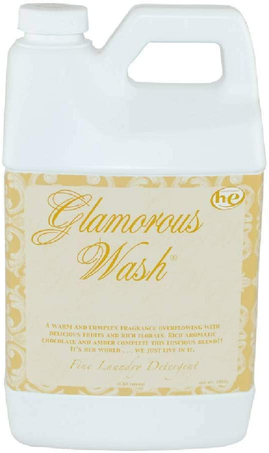 Tyler Glam Wash Laundry Detergent, Diva, Liquid, 64 Fl Oz (Half Gallon) HE Safe