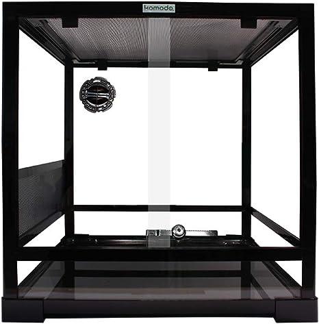 Komodo Embalaje Plano Cristal terrario, 45 x 45 x 45 cm: Amazon.es: Productos para mascotas