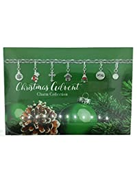 Christmas 2016 Silver Plated Charm Bracelet & Charm Necklace Advent Calendar